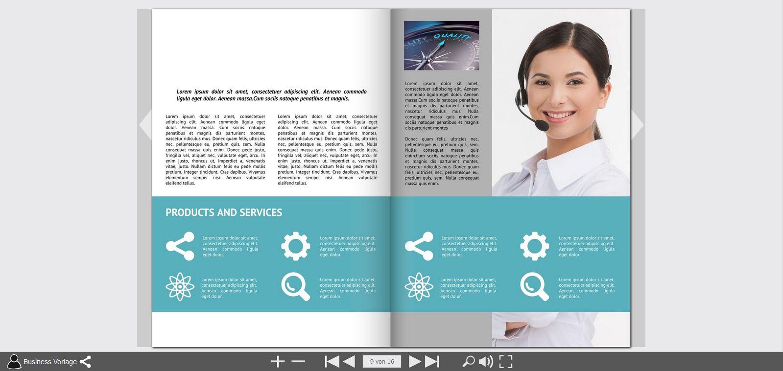 mag glance free online brochure maker print your brochure